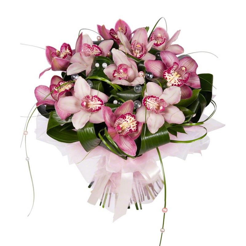 вуалью красивые букеты с орхидеями фото период октября апрель